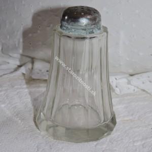 Soľnička rastrovaná sklenená
